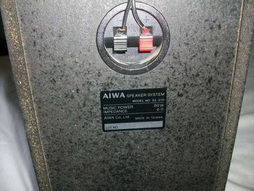 corneta aiwa venta remate cajon equipos sonido 80w 6 ohm