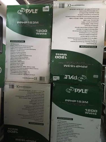 corneta amplificada 15p 1.200w pyle nueva