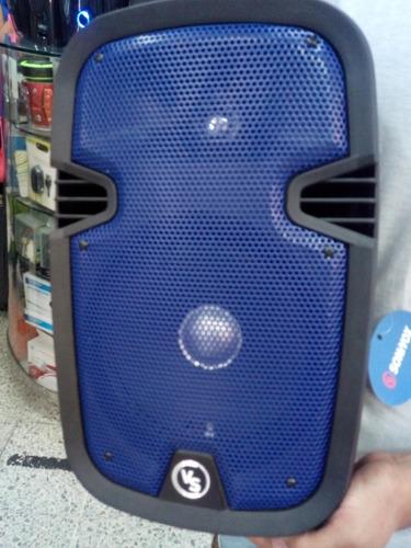 corneta amplificada 8 pulgadas con bluetooth usb microfono r