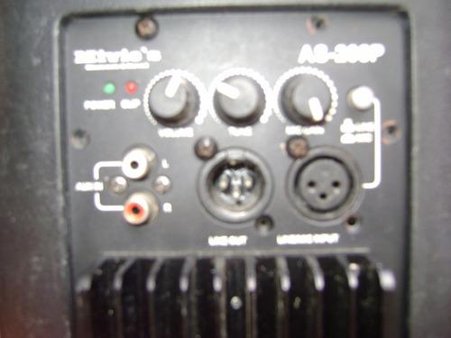 corneta amplificada mivic's 12 pulgadas 500w