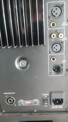 corneta amplificada mivic's 12 pulgadas 500w nueva