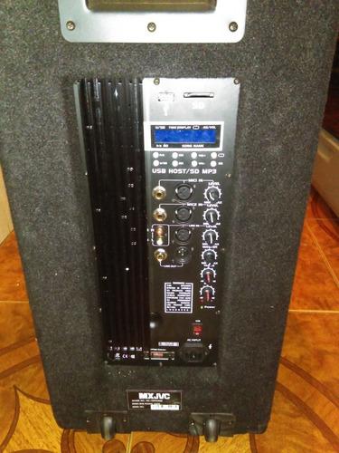 corneta amplificada mxjvc 10000 watts
