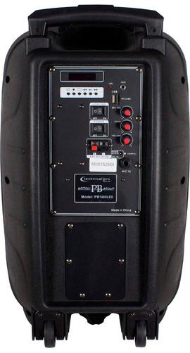 corneta amplificada portatil con batería tpro pb1400