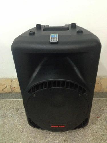 corneta amplificada westar 1500 watts