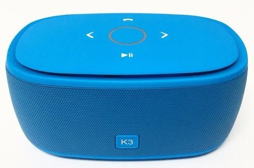 corneta bluetooh k3 touch micro sd radio aux y mp3 nueva