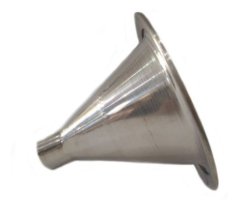 corneta de alumínio  curto de rosca jarrinho atacado 10pcs