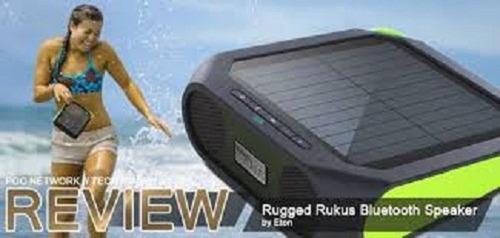 corneta inalambrica bluetooth recargable energia solar