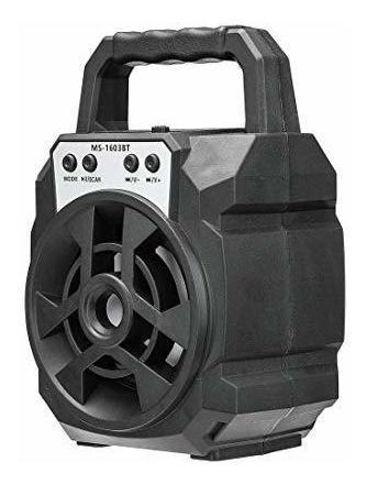 corneta inalámbrica ms-1603bt bluetooth, micro sd, radio usb