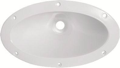 corneta jarrão oval 1400 branca