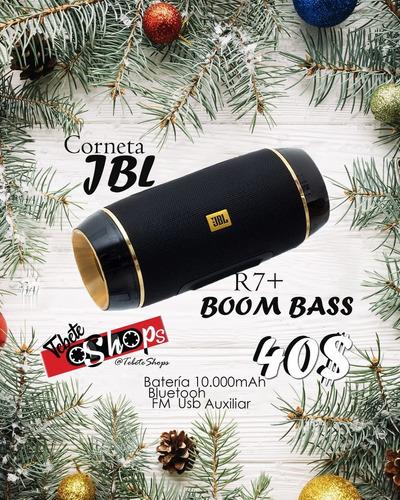corneta jbl r7+ boom bass