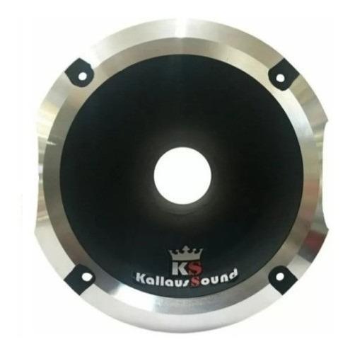 corneta kallaus aluminio hl-1450 super rosca curto preta