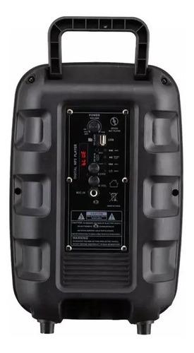 corneta portable de 8 pulgadas. karaoke. alto sonido