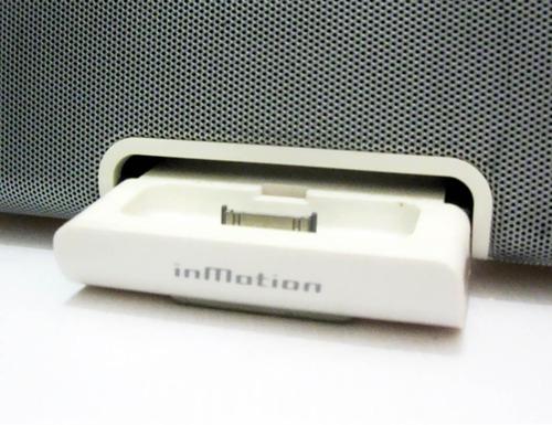 corneta portátil altec lansing inmotion im5 ipod iphone