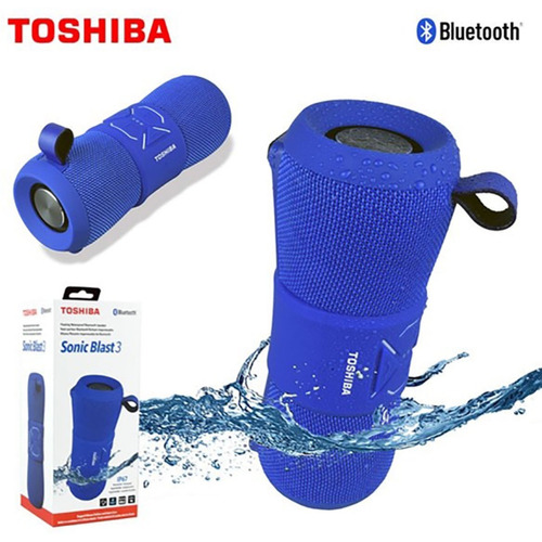 corneta portatil inalambrica bluetooth toshiba sonic blast3
