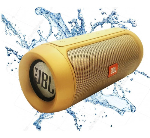 corneta portatil jbl charge 2 power bank bluetooth usb aux