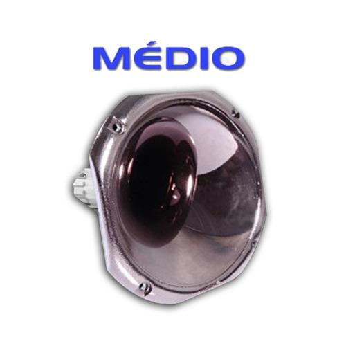 corneta redonda fiamon lc-1450 - média - plástica - onix