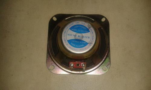 corneta speaker altavoz 16ohm 5w 10cm de televisor philips