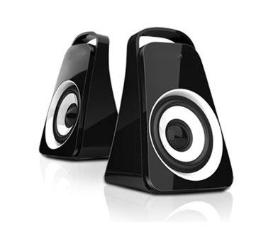 corneta stereo hd 2.0 - 600w para computadora