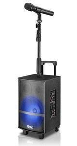 corneta technical pro recargable soporte de micrófono nuevo