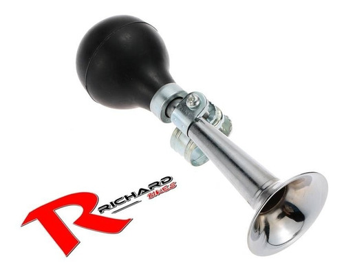 corneta tipo ford t cromada // richard bikes
