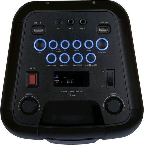 corneta toshiba inalambrica recargable bluetooth karaoke mic