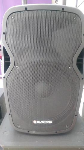 cornetas 15,12,10 pulgadas amplificada blastking recargable