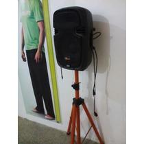 Corneta Amplificada 10 Pulg Con Pedestal Sound Matrix 500w