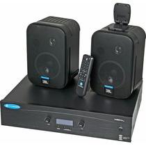 Combo Amplificador Y 2 Cornetas Jbl 140 Max Pack
