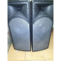 Par De Cornetas Sound Barrier Pasivas Pcs 152sp Doble 15