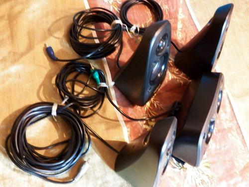 cornetas logitech z506 altavoz d repuesto + caja como nuevos
