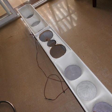 cornetas medio 8 seleniun p.r.v audio pipe con su consula