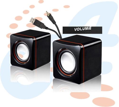 cornetas mini usb 300w pc laptop celular portatiles y más
