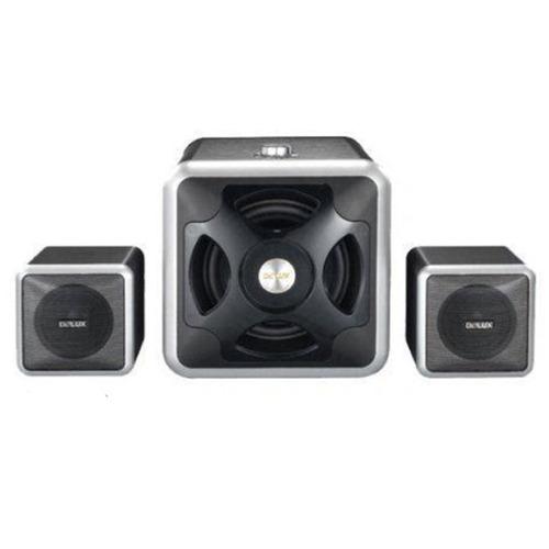 cornetas multimedia 2.1 subwoofer delux dsl2118w 3000w nuevo