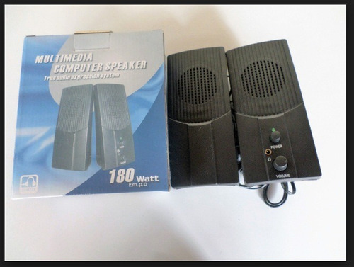 cornetas multimedia computer speaker usb nueva