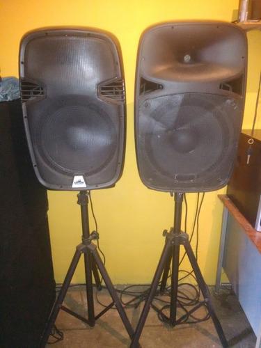cornetas pasivas 15 con paral o sin paral  super barata