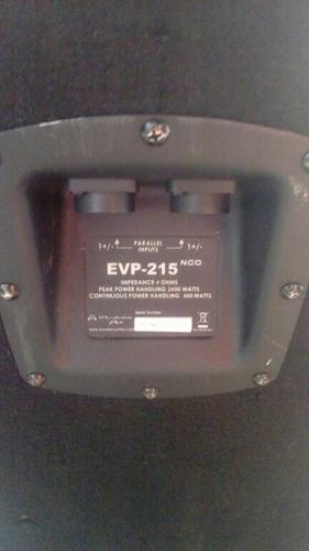 cornetas pasivas evp 15 componentes original como nuevas