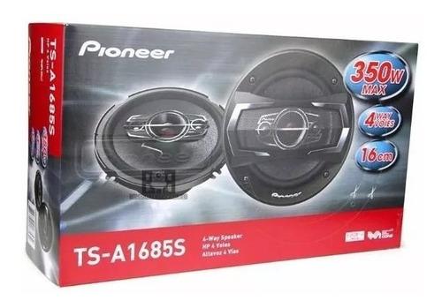 cornetas pioneer 6 y 1/2 4 vías coaxial 6.5 350watts pioneer