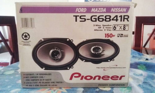 cornetas pionner nuevas, ford, mazda, audio