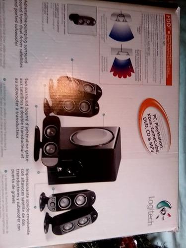 cornetas, sistema de altavoces logitech x-530 5.1