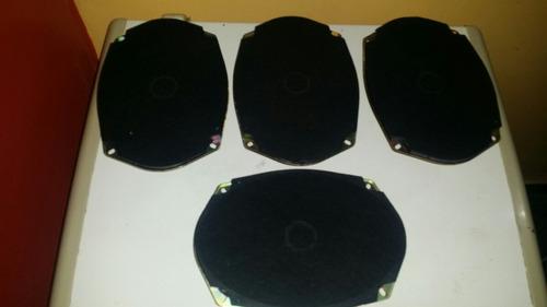 cornetas triaxiales 6x9 nuevas de paquete( precio por pares)