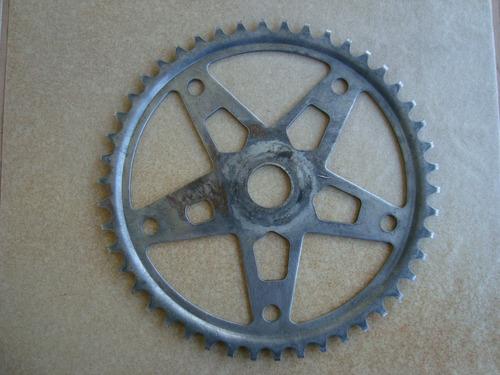coroa 46 dentes bicicletas antigas linha monark