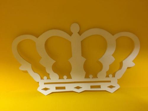 coroa branca - mdf