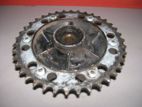 coroa com anti-shock honda xlx 350 250