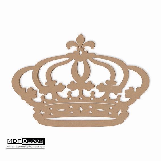 coroa de princesa mdf 60 cm decoração de festas provençal r 23 00