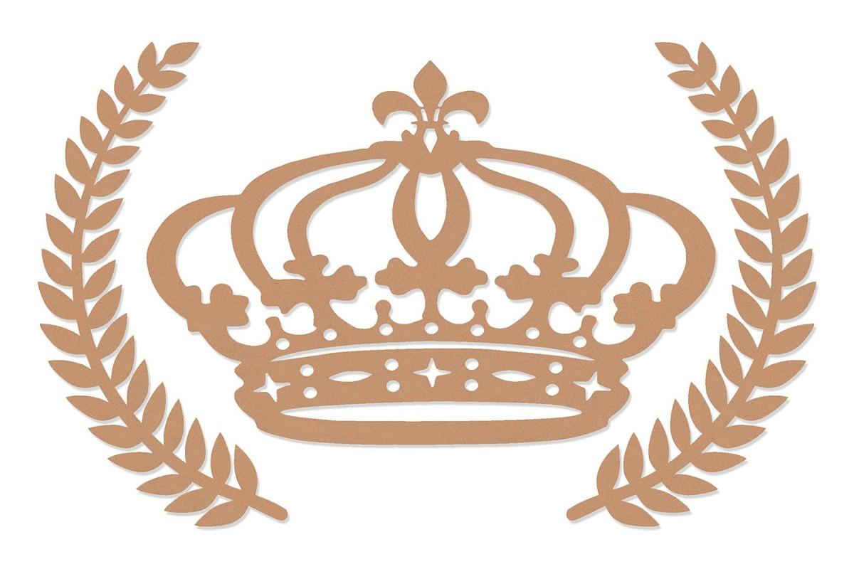 coroa de princesa mdf 60 cm ramos trigo kit provençal festa r 42