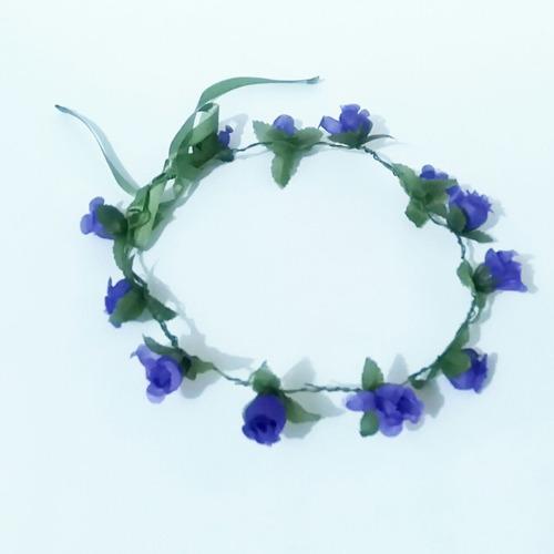 coroa florida acessório cabelos tiara carnaval fantasia tend