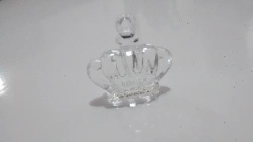 coroa frozen princesa elsa  acrilico 3 cm com 30 pronta entr