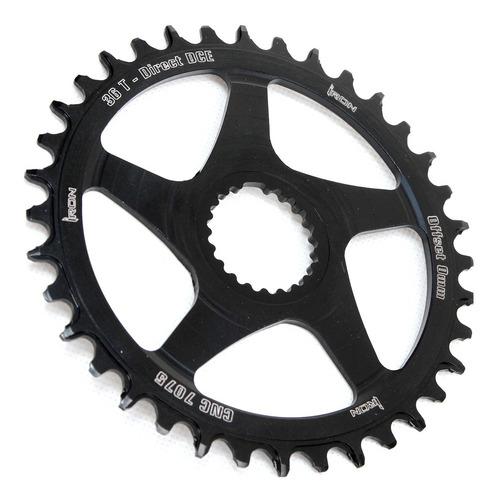coroa iron direct dce 36 dentes offset 0mm bike mtb