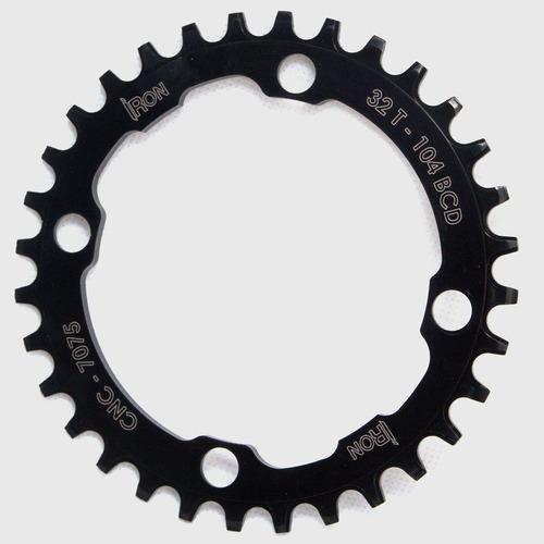 coroa iron unitária bcd 104mm 32 dentes bike mtb
