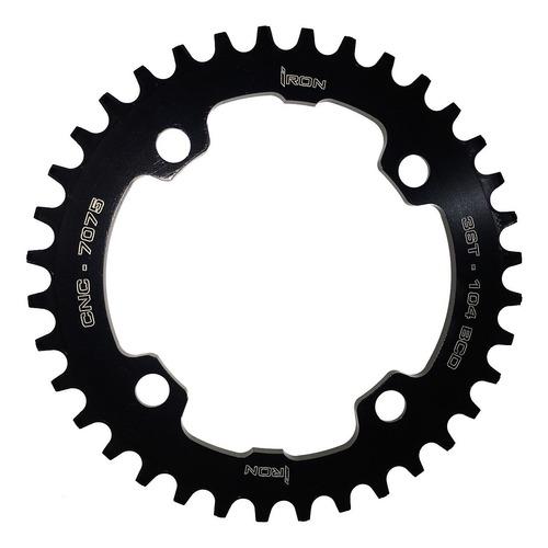 coroa iron unitária bcd 104mm 36 dentes bike mtb